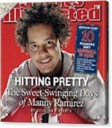 Boston Red Sox Manny Ramirez Sports Illustrated Cover Acrylic Print