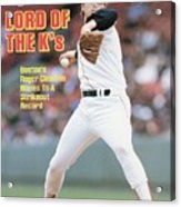 Boston Red Sox Roger Clemens... Sports Illustrated Cover Acrylic Print