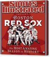 Boston Red Sox Vs St. Louis Cardinals, 2004 World Series Sports Illustrated Cover Acrylic Print
