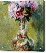 Bouquet In A Vase, 1878 Acrylic Print