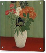 Bouquet Of Flowers With China Asters And Tokyos, 1910 Acrylic Print