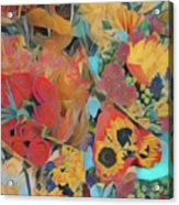 Bouquets Acrylic Print