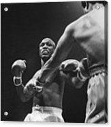 Boxers Joe Frazier And George Foreman Acrylic Print