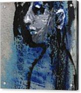 Boy In Blue Acrylic Print