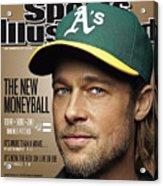 Brad Pitt Sports Illustrated Cover Acrylic Print