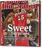 Bradley Marcellus Sommerville, 2006 Ncaa Playoffs Sports Illustrated Cover Acrylic Print