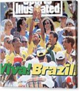 Brazil Marcio Santos, 1994 Fifa World Cup Final Sports Illustrated Cover Acrylic Print