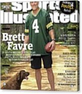 Brett Favre, Where Are They Now Sports Illustrated Cover Acrylic Print