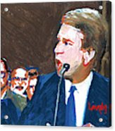 Brett Kavanaugh Testifies Before Senate Acrylic Print