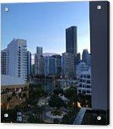 Brickell Key Miami Florida Acrylic Print