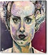 Bride Of Frankenstein Acrylic Print