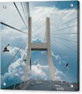 Bridge In The Clouds Acrylic Print