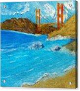 Bridge Over The Bay Acrylic Print