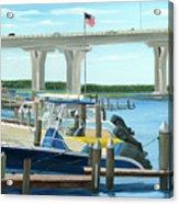 Bridge To Summer II Acrylic Print