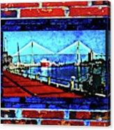 Bridges And Walls  Acrylic Print