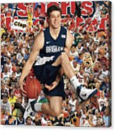 Brigham Young University Jimmer Fredette, 2011 March Sports Illustrated Cover Acrylic Print