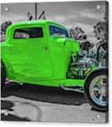 Bright Green Ford Acrylic Print