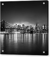 Bright Lights Of New York Acrylic Print