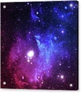 Bright Space Stars Acrylic Print