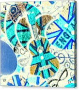 Britain Blues Acrylic Print