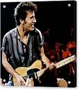 Bruce Springsteen Live Acrylic Print
