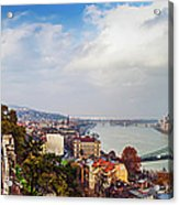 Budapest - Sweeping View Acrylic Print