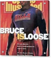 Buffalo Bills Bruce Smith, 1991 Nfl Football Preview Sports Illustrated Cover Acrylic Print