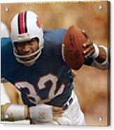 Buffalo Bills O.j. Simpson... Sports Illustrated Cover Acrylic Print
