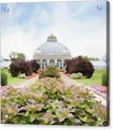 Buffalo Botanic Gardens Conservatory Acrylic Print