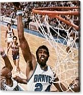 Buffalo Braves Garfield Heard, 1975 Nba Eastern Conference Sports Illustrated Cover Acrylic Print