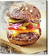 Burger Acrylic Print