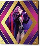 Burlesque Cher Diamond Acrylic Print