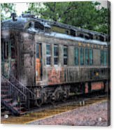 Burlington Passenger Car Acrylic Print