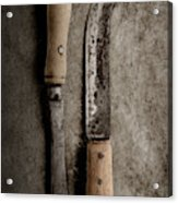 Butcher Knives Acrylic Print