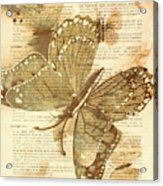 Butterfly Antiquities Acrylic Print