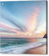 Cabo San Lucas Beach Sunset Mexico Acrylic Print