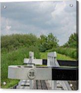 Caen Hill Lock 38 Acrylic Print