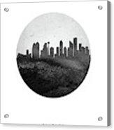 Calgary Skyline Caabca04 Acrylic Print