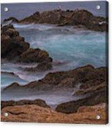 California Coastal Water Motion Acrylic Print