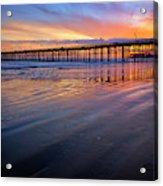 California Sunset Vii Acrylic Print