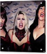 Call Of The Vampires Women Acrylic Print