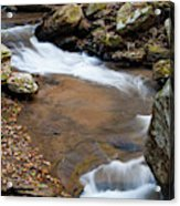 Calming Water Sounds - North Carolina Acrylic Print