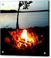 Campfire Acrylic Print