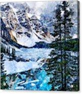 Canada, Alberta - 07 Acrylic Print