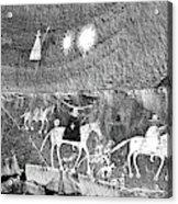 Canyon De Chelley Pictographs Acrylic Print