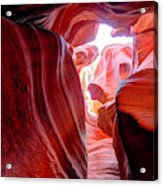 Canyon X Acrylic Print