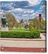 Capitol - Madison - Wisconsin From Bascom Hall Acrylic Print