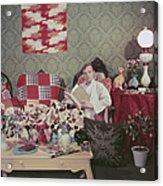 Capote At Home Acrylic Print