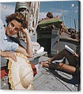 Capri Cruise Acrylic Print