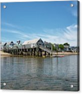 Captain Jack's Wharf - Provincetown Harbor - Massachusetts Acrylic Print